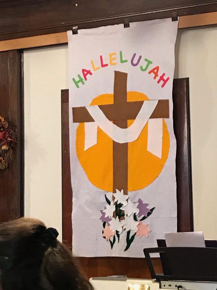 Hallelujah banner
