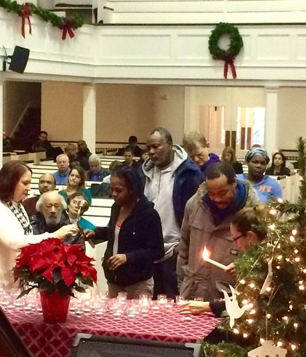 Interfaith Homeless Memorial Service