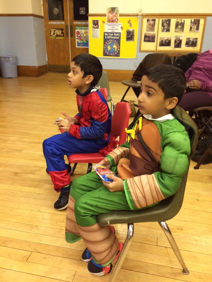 Superhero Fun Night