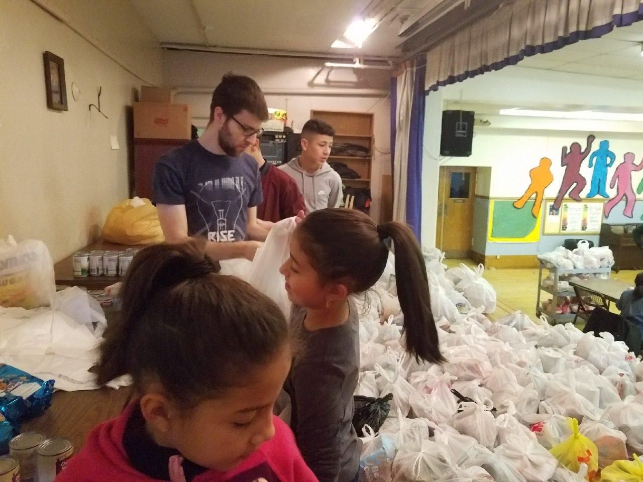 Food Pantry Volunteers Jan. 2018