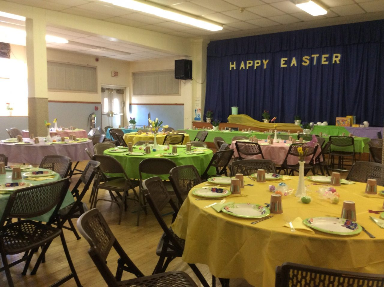 Easter and Breakfast 2018