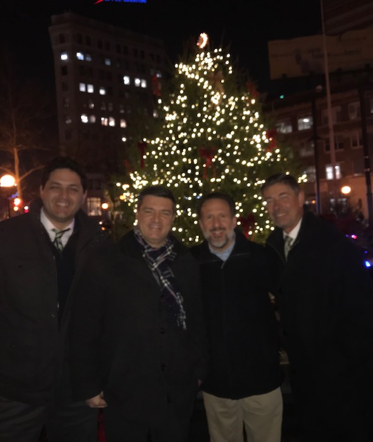 Journal Square Christmas Tree Lighting 2019