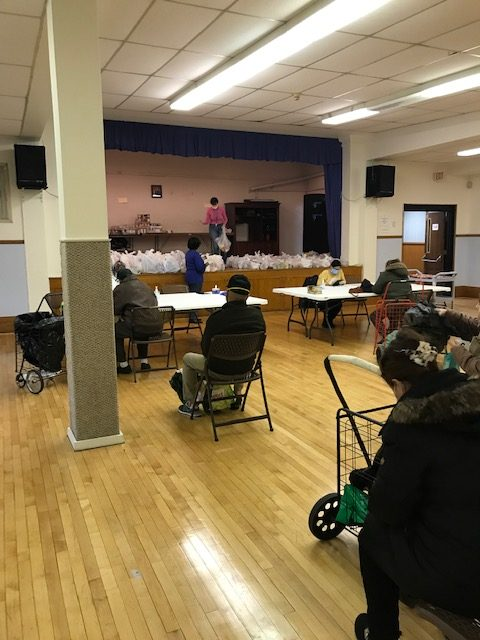 2020 March Food Pantry-Social Distancing