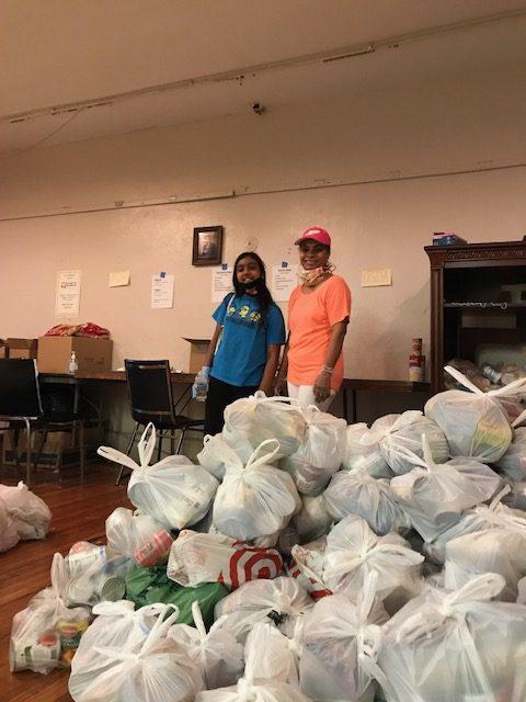 Food Pantry Volunteers 2020