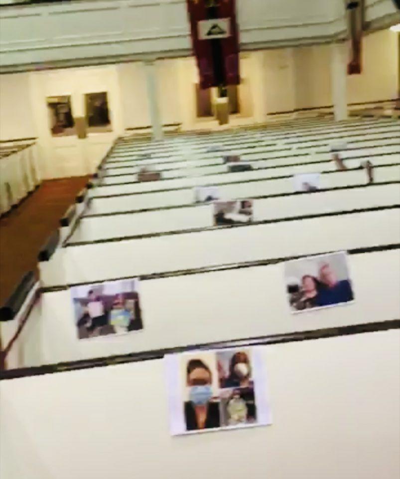 Indoor, Outdoor Worship and Pentecost Service 2020