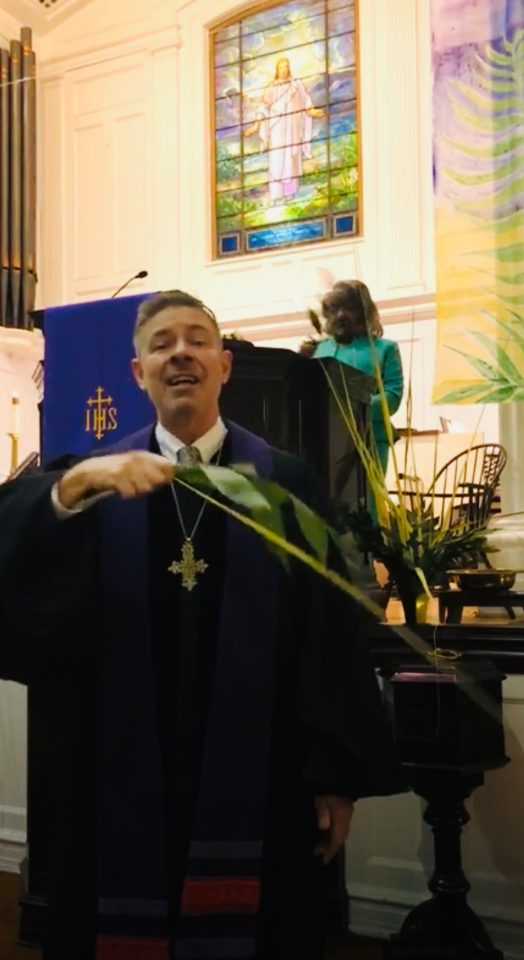 2021 Palm Sunday (Live Streaming on FB)